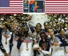 États-Unis d'Amérique, champion de Coupe du monde FIBA 2014