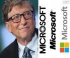 Bill Gates, entrepreneur et informaticien américain, cofondateur de la société de logiciels de Microsoft