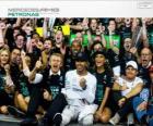 Lewis Hamilton, champion du monde de F1 2014 avec Mercedes