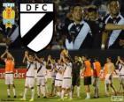 Danubio FC, champion de première division du football en Uruguay 2013-2014