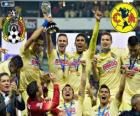 Club America, champion Apertura Mexique 2014