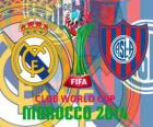 Real Madrid vs San Lorenzo. Final de Coupe du monde des clubs de la FIFA 2014 Maroc