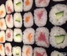 Makis, variante du sushi