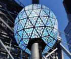 Le Bal de la nouvelle année, Times Square, Manhattan, New York