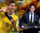 Prix Puskas de la FIFA 2014 pour James Rodríguez