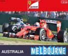 Sebastian Vettel, Ferrari, Grand Prix d'Australie 2015, la troisième place