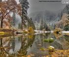La rivière Merced, Californie