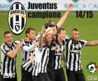 Juventus, champion de la ligue italienne de football. Lega Calcio Serie A 2014-2015