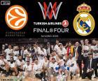 Real Madrid, Euroligue 2015