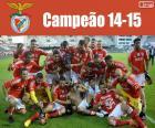 Benfica, champion 2014-2015