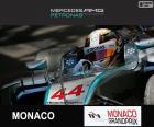 Lewis Hamilton, Mercedes, Grand Prix de Monaco 2015, la troisième place