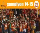 Galatasaray, champion de 14-15