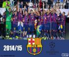 FC Barcelona champion Champions15