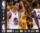 NBA finals 2015, 1ère partie