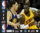 NBA finals 2015, 3ème partie