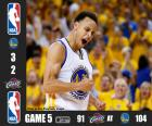NBA finals 2015, partie 5