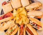Sandwichs variés