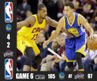 NBA finales 15, partie 6