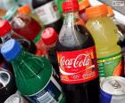 Assortiment de soft drinks