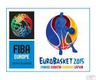 Logo de l'EuroBasket 2015