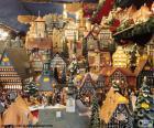 Marché de Noël, ornements