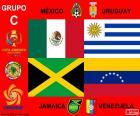 Groupe C, Copa América Centenario