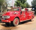 Feu de camion, Birmanie