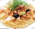Couscous aux chiches et légumes