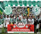 Celtic FC champion 2015-2016