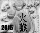 2016 année chinoise singe de feu