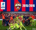 CSKA Moscou, Champion League Premier 2015-2016, la Ligue de football russe