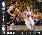 Finale NBA 16, 2 ème partie