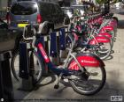 Boris Bikes, Londres
