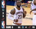 Finale NBA 2016, 6e partie