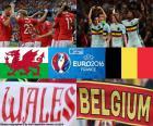 Galles-BE quarts finale Euro 2016