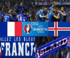 FR-IS, quarts de finale Euro 2016