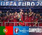 Portugal, champion Euro 2016