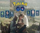 Les joueurs de Pokémon GO faire un échange de Pokémon