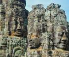 Visages de pierre, Angkor Wat
