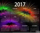 Calendrier 2017, bonne année
