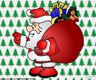 Santa Claus, dessin