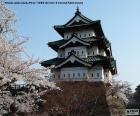 Château de Hirosaki, Japon