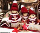 Trois poupées de Noël