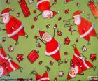 Papier du Père Noël