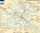 Carte du Métro de Paris