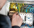Électricien, tableau électrique