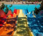 Toboggan parc aquatique
