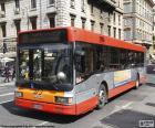 Le bus urbain de Rome, a actuellement un réseau de 338 lignes et 8260 arrêts