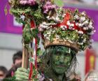 Homme vert, Carnaval