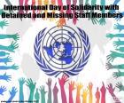 Journée internationale de solidarité avec les membres du personnel détenus ou portés disparus